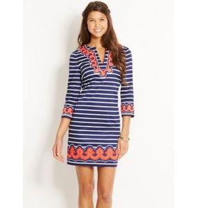Vineyard Vines Border Print Tunic Dress